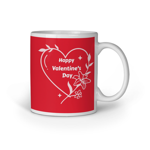 I Love You | Valentine's Day Printed Coffee Mug - Black (11oz/330ml)