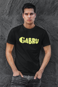 Gabru printed t shirt for men online in India - nautunkee.com