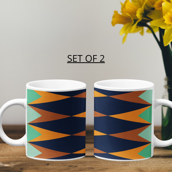 Printed Coffee Mugs - Set Of 2 - nautunkee.com