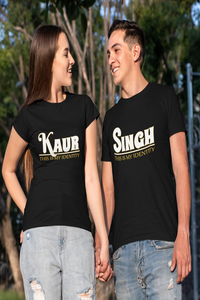 Singh Kaur Couple T-Shirt Online in India - Nautunkee.com