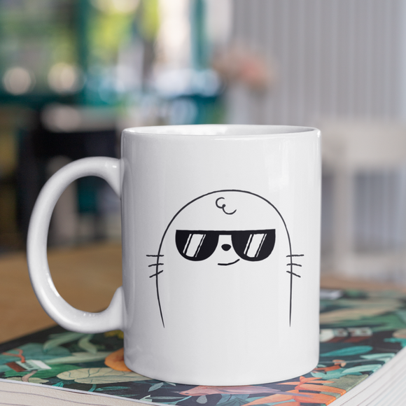 ME.. SARCASTIC.. NEVER Coffee Mug - White (11oz/330ml)