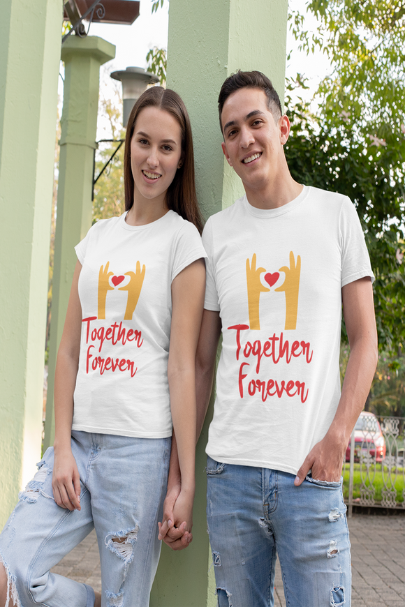 Together Forever Matching Couple Tees - nautunkee.com