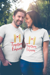 Together Forever Matching Couple Tees