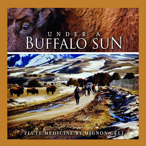 CD: Under A Buffalo Sun by Mignon Geli