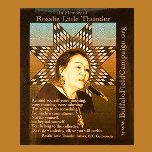 Rosalie Little Thunder Sticker