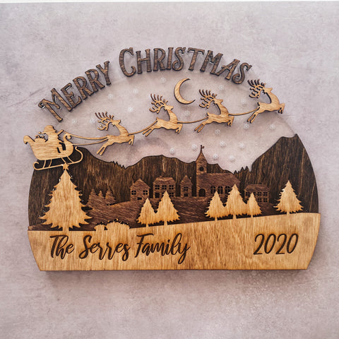 Personalized Christmas Town (Large)