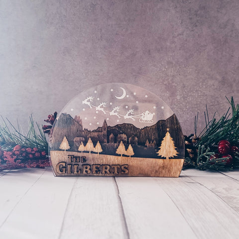 Personalized Christmas Town (Small)