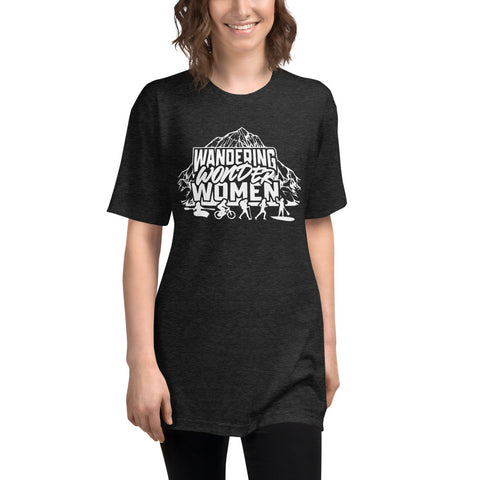 Wandering Wonder Women Unisex Tri-Blend Track Shirt