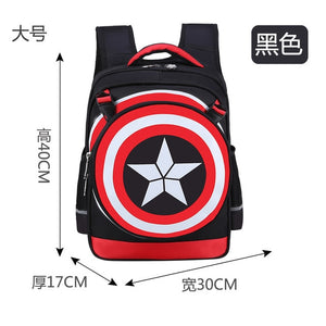 Primary School Trolley Bags Captain America