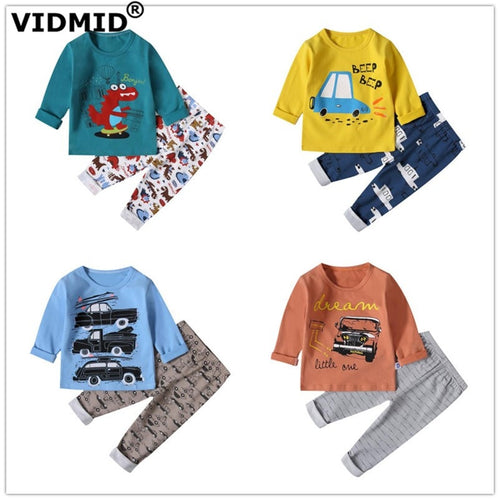 baby boys pajamas clothing sets long