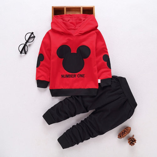 Baby Boys Mickey Clothing Set Autumn