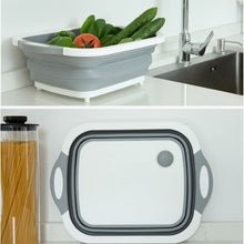 Load image into Gallery viewer, Multi-function 3 In 1 Folding Cutting Board