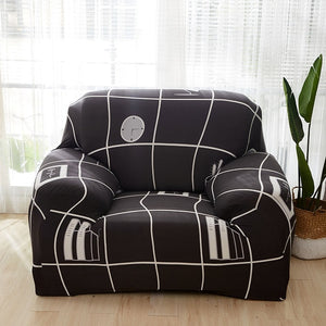 stretch sofa cover set 1/2/3/4 seater elastic