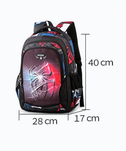 New Spiderman School Bag Boys anime