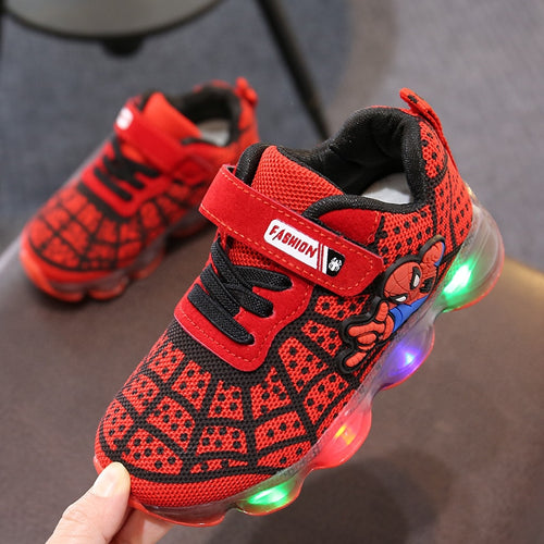 Luminous Sneakers Boy Girl