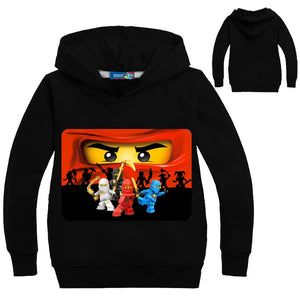 Ninjago Boys' Hoodie T shirt Kids Ninja Movie