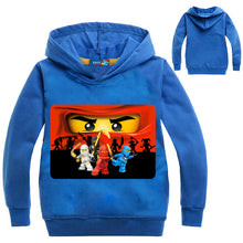 Load image into Gallery viewer, Ninjago Boys' Hoodie T shirt Kids Ninja Movie