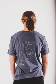 "Rúngne T-shirt - ""There is no such thing as too much chalk!"""
