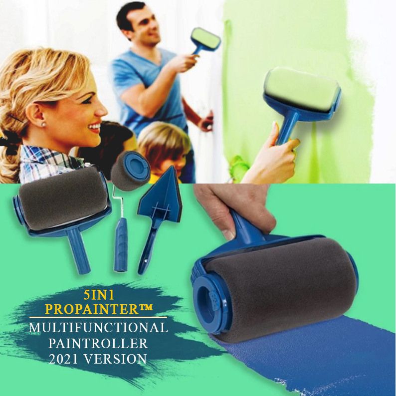 5in1 PROPAINTER™ Multi-Purpose Paint Rollers PRO SET [New 2021]