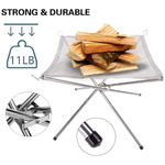 Portable Contractible BBQ Holder Rack (FREESHIPPING)