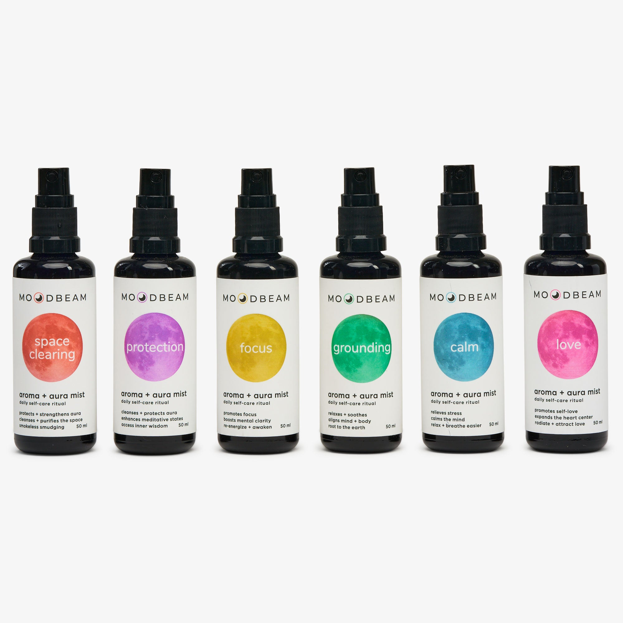 The Moodbeam Aura Mist Collection Bundle