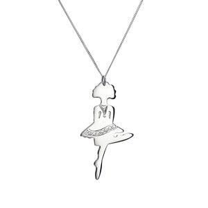 Irish Dancing Girl Reel Pendant