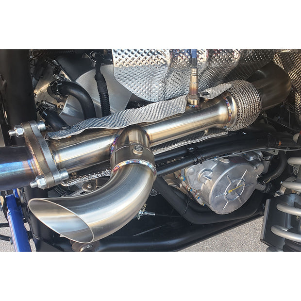 "EVOLUTION POWERSPORTS RZR XP TURBO ""SHOCKER"" ELECTRIC SIDE DUMP EXHAUST"