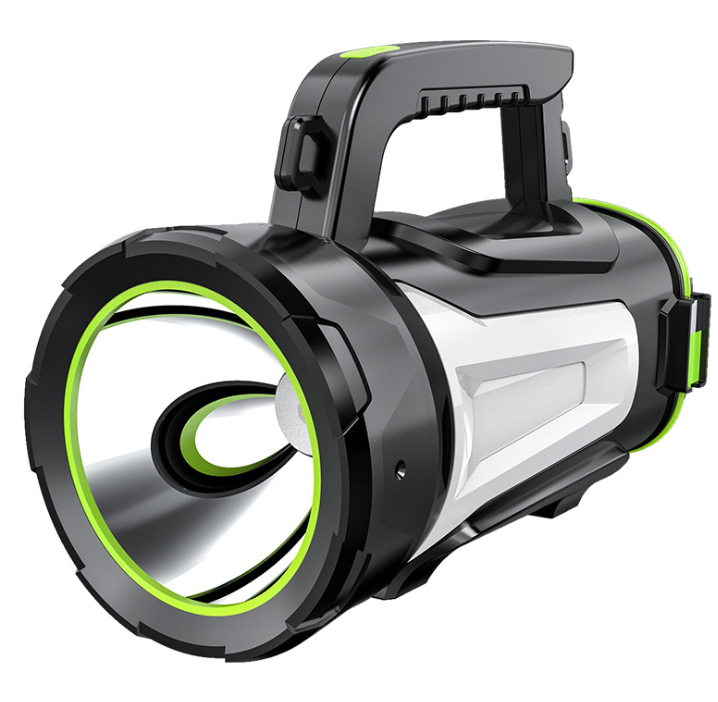 Strong light portable searchlight multi-function charging portable lantern for outdoor emergency