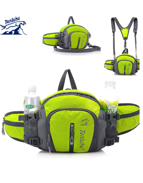 Outdoor utility bag cycling running bag mountaineering large capacity water bottle bag shoulder bag