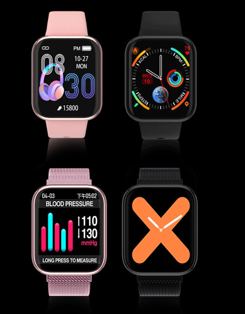 Smartwatch - record exercise - good health partner apple watch