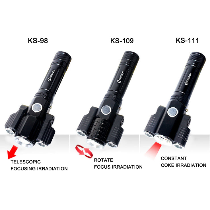 Multi-function outdoor flashlight