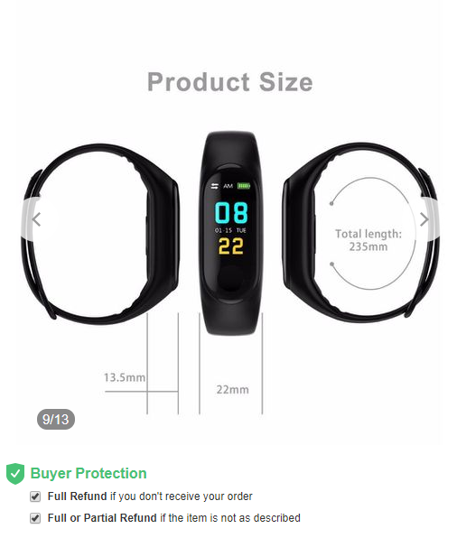 M3 smart watch bracelet fitness activity tracker sports bracelet apple watch