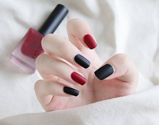 Web celebrity matte and matte nail polish set lasts free of baking