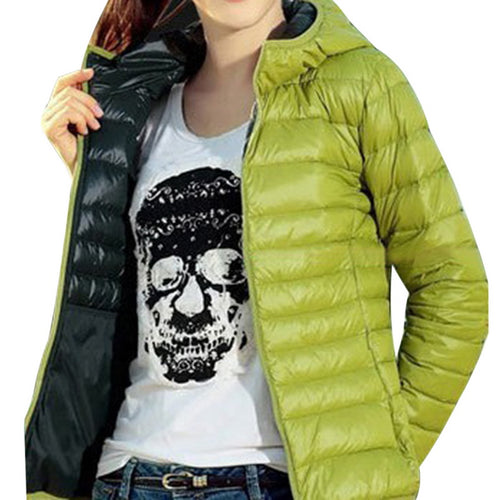 NIBESSER 2019 Autumn Winter Women Jacket Warm Casual Long Sleeve Outwear Ladies Slim Hooded Short Cotton Coats Cardigan Jackets