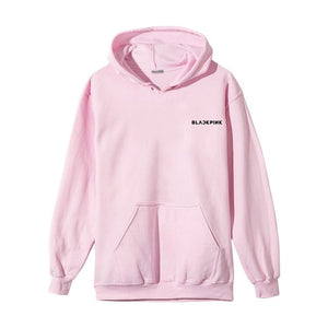 BLACKPINK Album ROSE women hoodies sweatshirt printed causal top spring Autumn long sleeve hoody sweatshirts