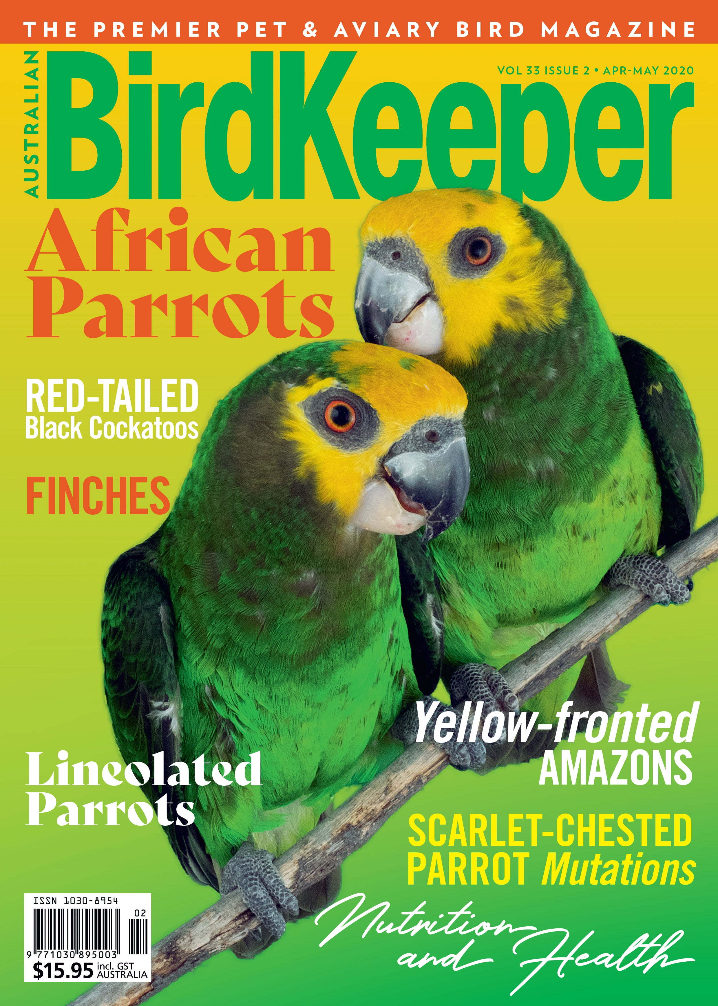 Rest of the World - Birdkeeper Magazine Print Subscription