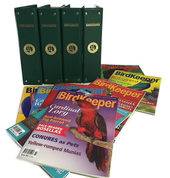 Binder—For BirdKeeper Magazines—SOLD OUT but contact us for order as more coming