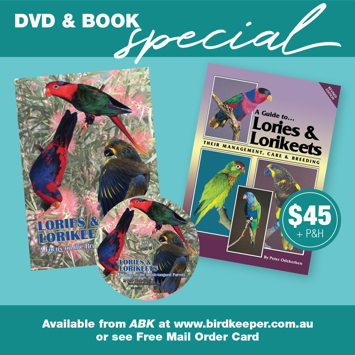 A Guide to Lories and Lorikeets & DVD Package