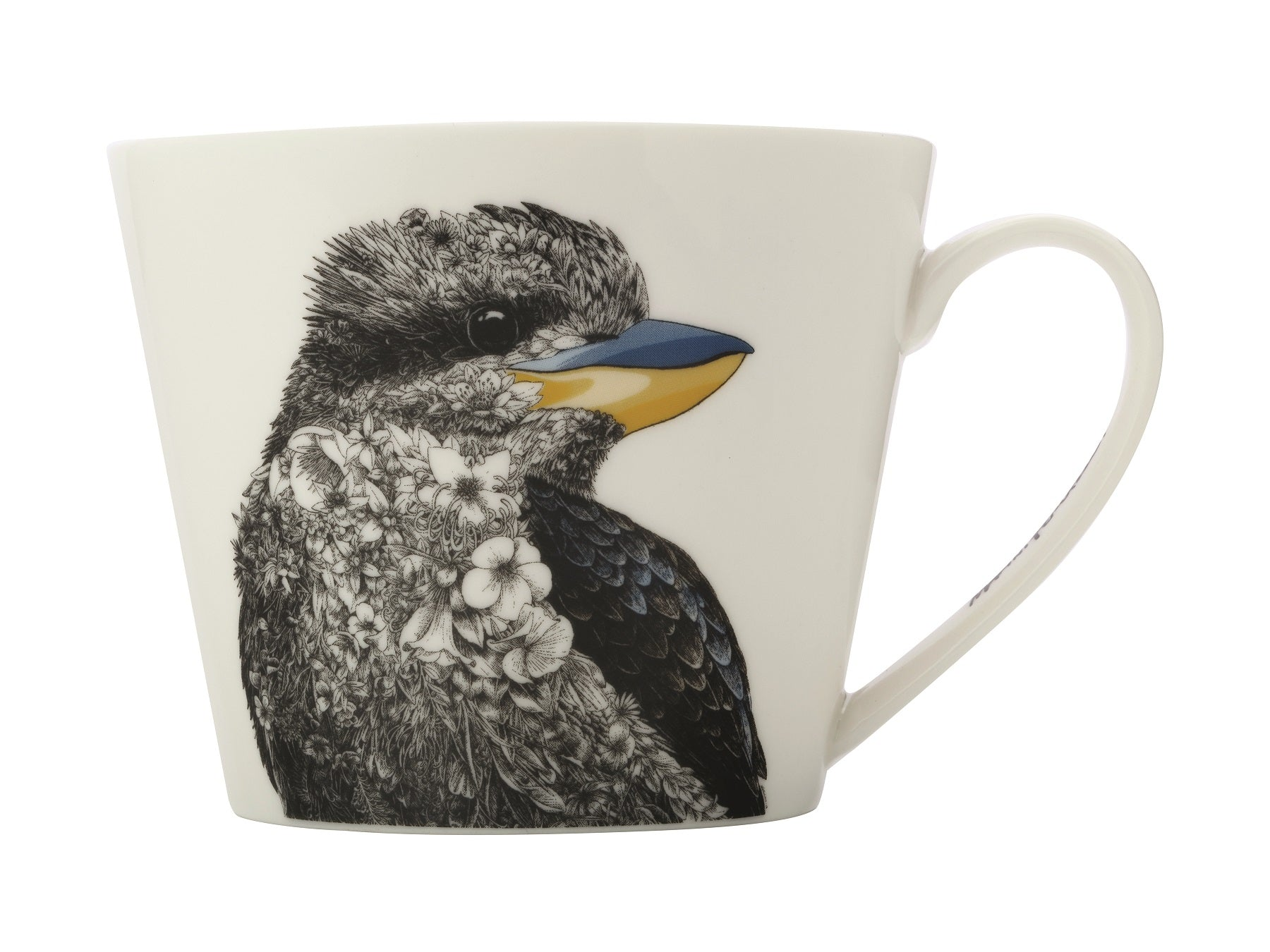 MW Marini Ferlazzo Birds Kookaburra Mug, Bottle, Tea Towel Set