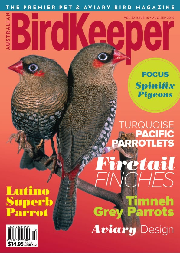 Australian BirdKeeper Magazine Vol 32 Iss 10 Digital Version