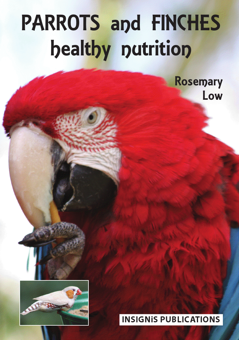 Parrots and Finches—Healthy Nutrition