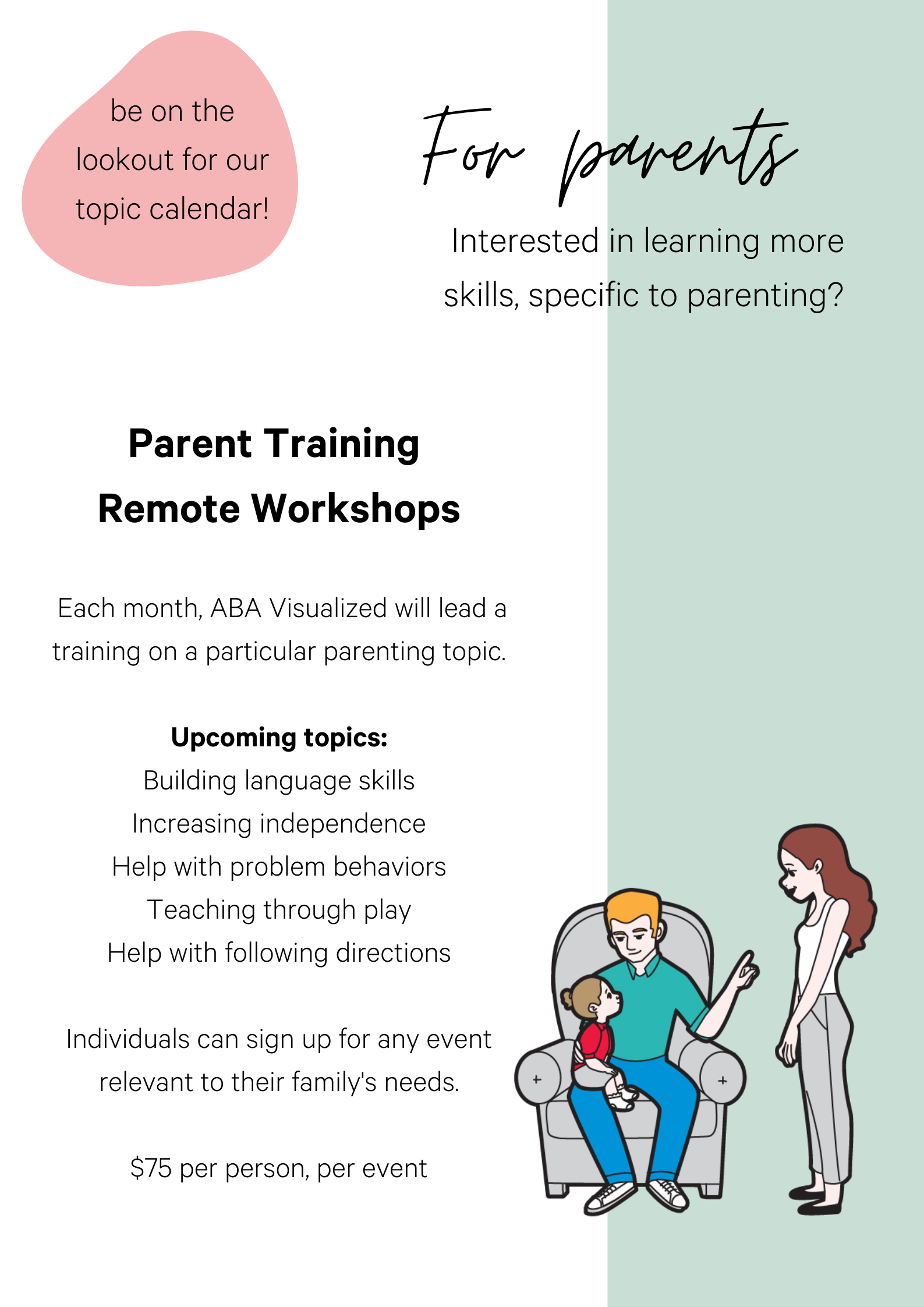 Parent Training Workshops