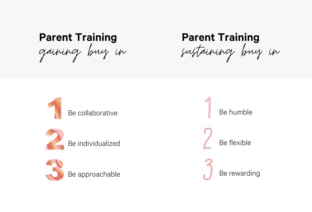 Parent Training ABA Tips