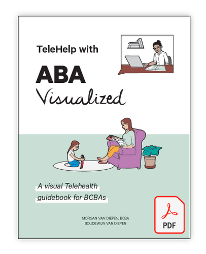 TeleHelp with ABA Visualized - Telehealth BCBA Guide