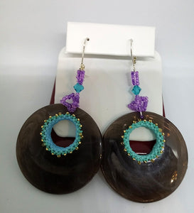 Mahoganyish Earrings (special order - sold out)
