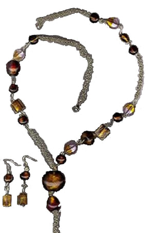 Amber Splendor Jewelry Set