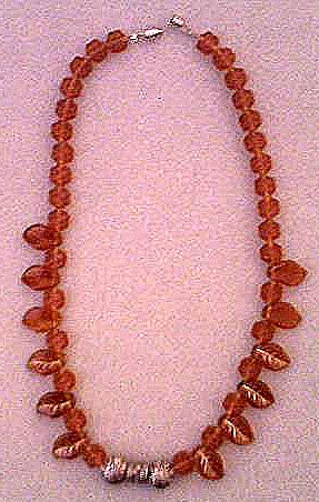 Autumn Amber Necklace