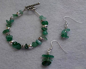 Aventurine Jewelry Set