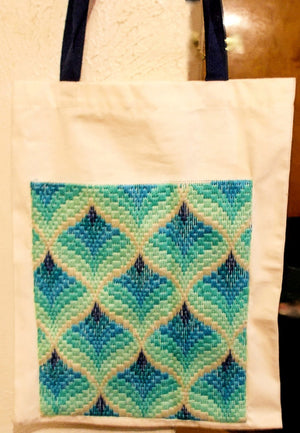 Bargello Tote Bag