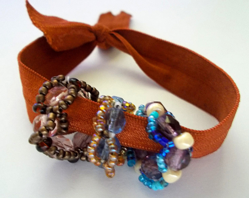 Beaded Beads Hair Tie